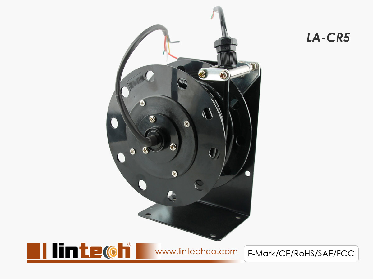 Auto Cable Rewinder for Forklift Vision System