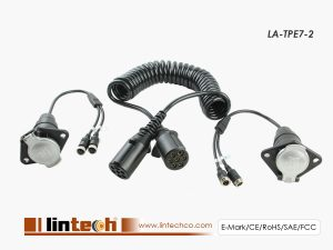 LA-TPE7-2 Trailer Cable for 2 Channels Camera Connection