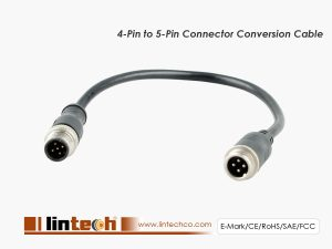 4-Pin to 5-Pin Connector Convert Cable