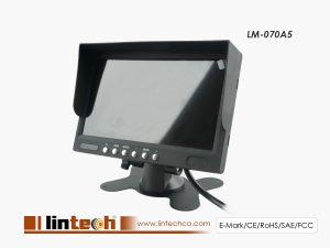 Digital TFT LCD 4CHs split Monitor