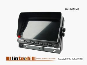 7 Inch Quad Function Car DVR Monitor