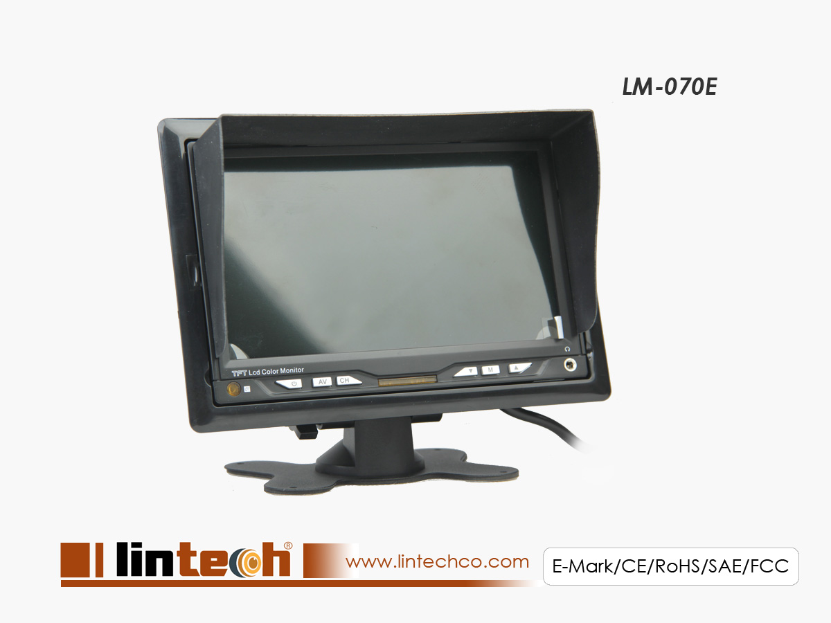 Automotive Safety Video Technical Systems Supplier Lintechco Ip Camera Tester 7 Inch Inches Automonitor