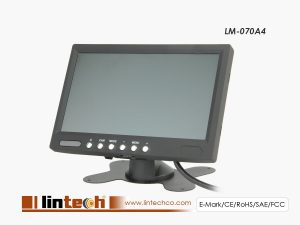 7 inches Monitor For Bus Reverse