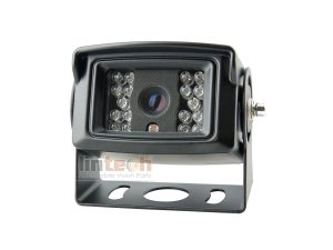 Rear View Mirror Camera: Waterproof 18pcs IR LED Night Vision, LC-018C
