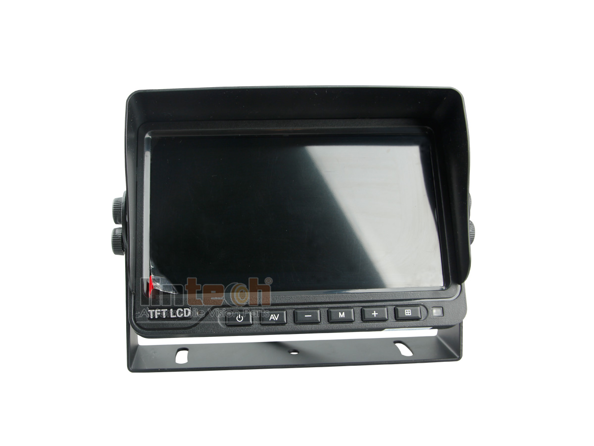 Ltb 02 With 4ch Realtime Reversing Recording 7 Inch Dvr