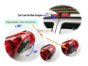 Rear View Backup Camera for GMC Savana & Chevrolet Express Van, LC-009C5-5