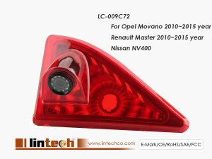 Renault Master,Opel Movano,Nissan NV400 Stop light Brake light Camera