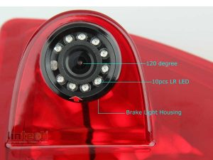Rear Parking Camera for Renault Master, Opel Movano, Nissan NV400, LC-009C72