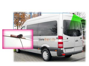 LC-009C3 Brake Light Reversing Camera for Mercedes Benz Sprinter