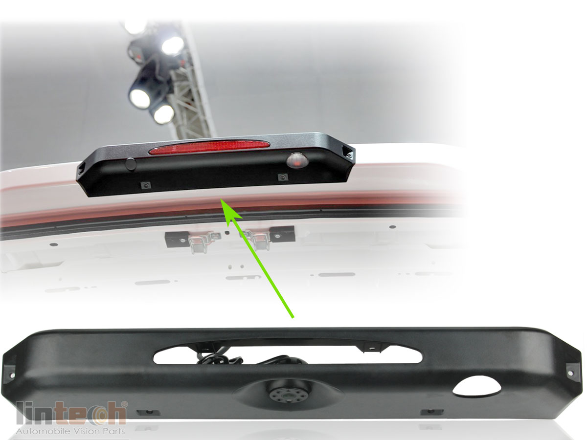 3rd Brake light camera Special for IVECO Daily 2015