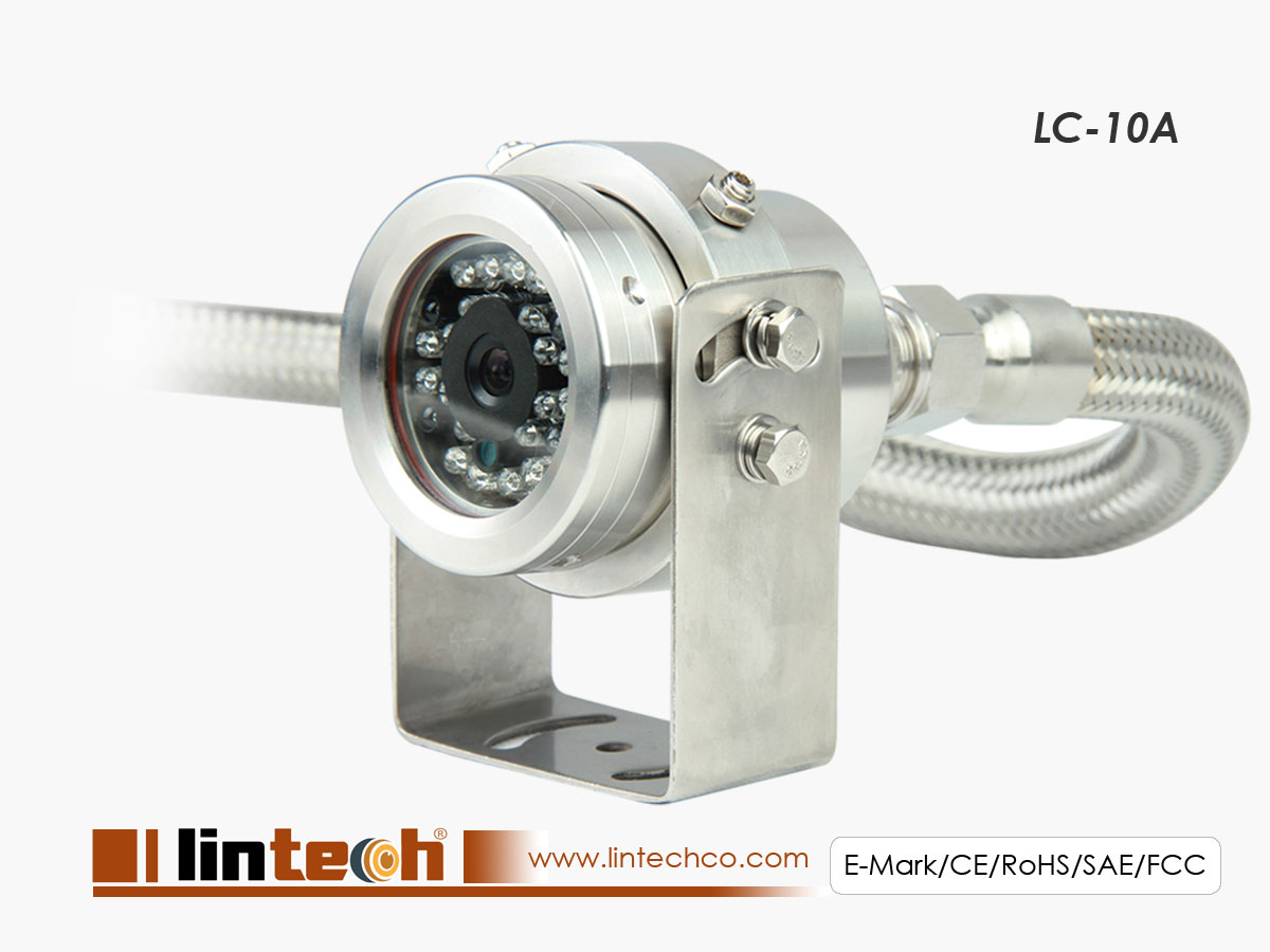 LC-10A Explosion-proof sony CCD car camera stainless steel