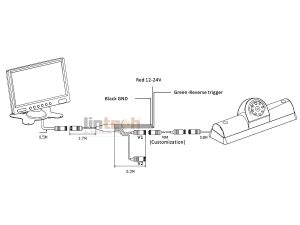 NV Passenger Car Backup Camera System, LWC-02