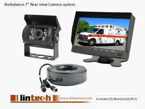 Ambulance Rear View Camera System