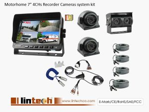 Rear View Camera System With Trailer Cable