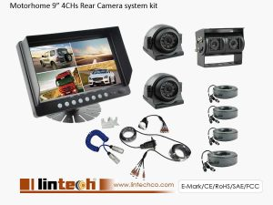Rear View Camera System For Motorhome