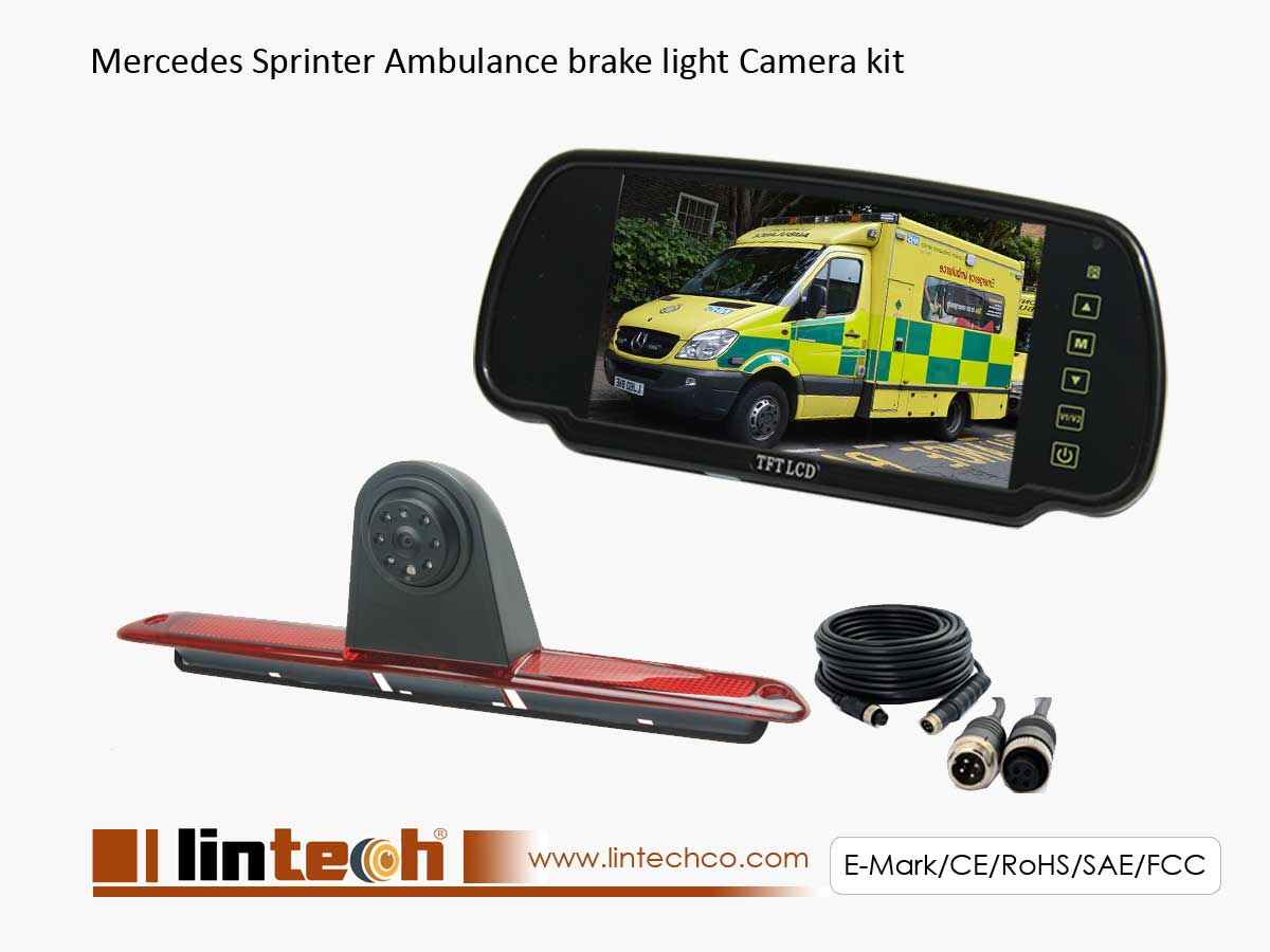 Sprinter Brake Light Camera System