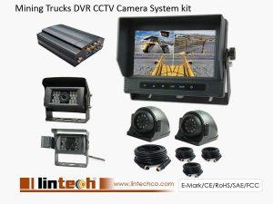 Mining Trucks DVR Camera System