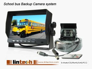 Vehicle Rear View Camera System For School Bus