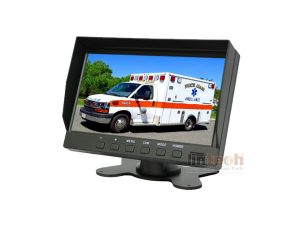 Ambulance 4 Channel Mobile DVR Recording Camera System, LRW-05