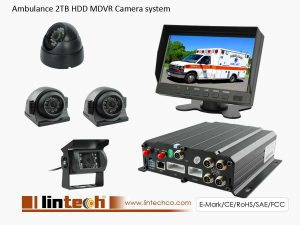 4Chs Ambulance DVR Recording Camera System