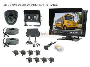 LSB-03 8 Sensors Parking System For School Bus