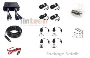Trucks 4Pcs Parking Sensor System, T-R4-C