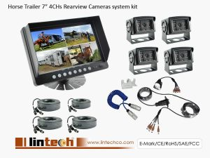 Horse Trailer Rearview Camera System