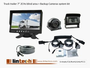 Tractor Trailer Backup Cameras System