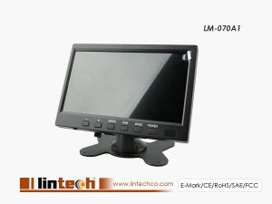 auto digital lcd car monitor