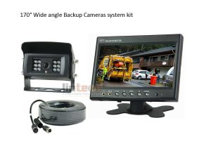 170 Degree Wide View Angle Rear View Camera Kit, LRW-01