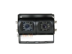 RV Backup Camera: 15pcs IR LED Waterproof Dual Lens, LC-015DB