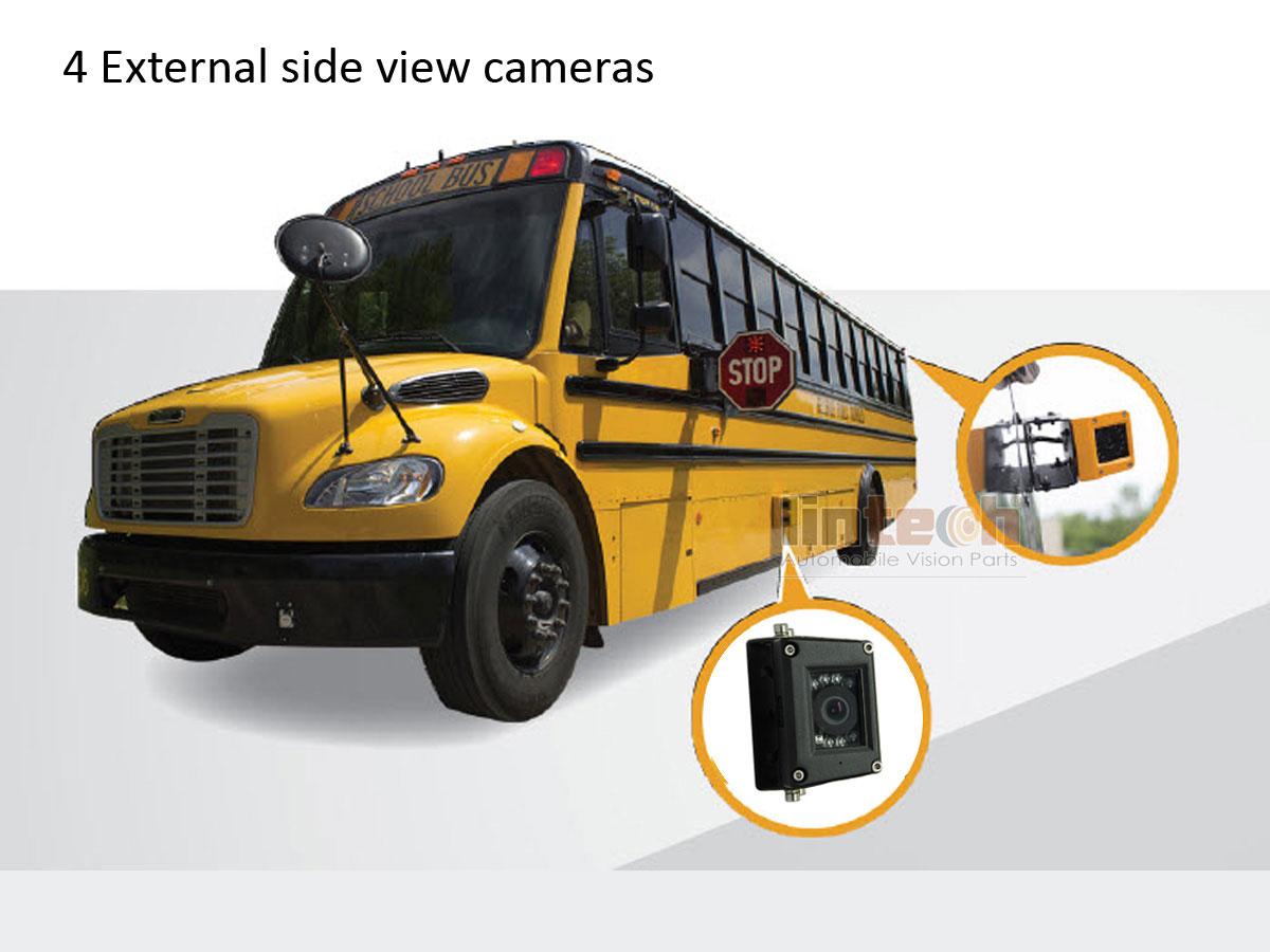 4-External- School bus Cameras-installation
