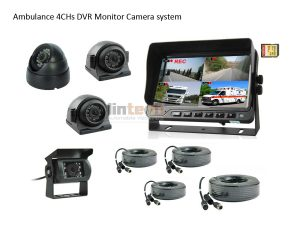7 inch 4CHs DVR Camera System For Ambulance, LRW-06