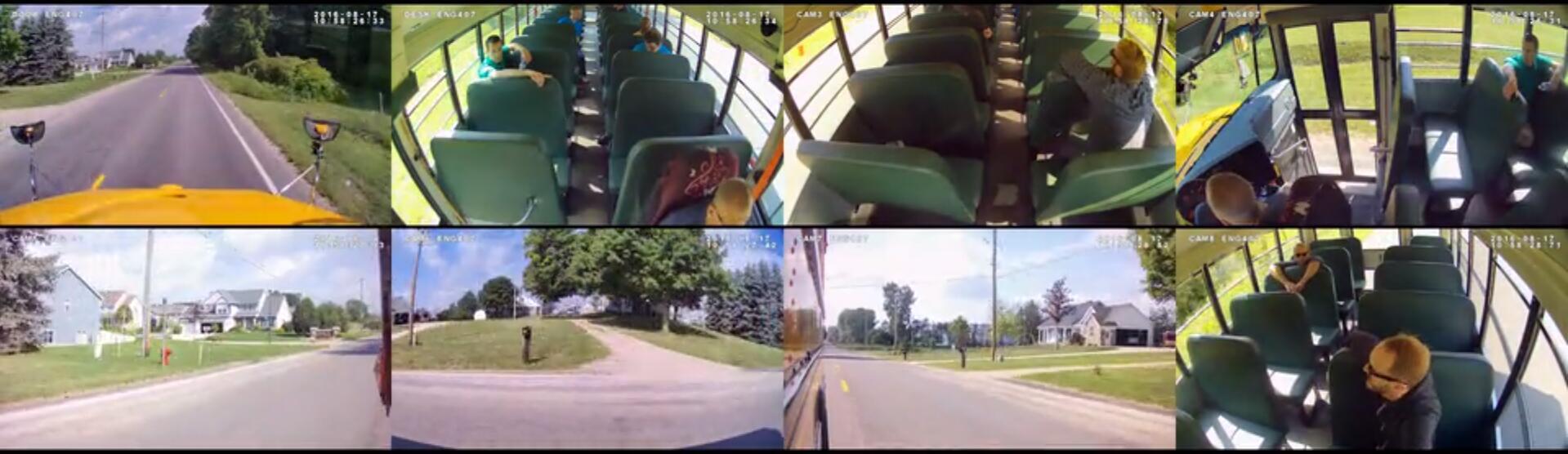 8CHs MDVR Camera system for School bus