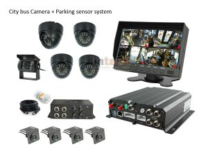 City Bus DVR System Backup Camera with Sensors, LTB-01