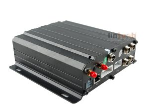 AHD3G WIFI GPS HDD and SD Card Mobile DVR for Vehicles, DVR-A4