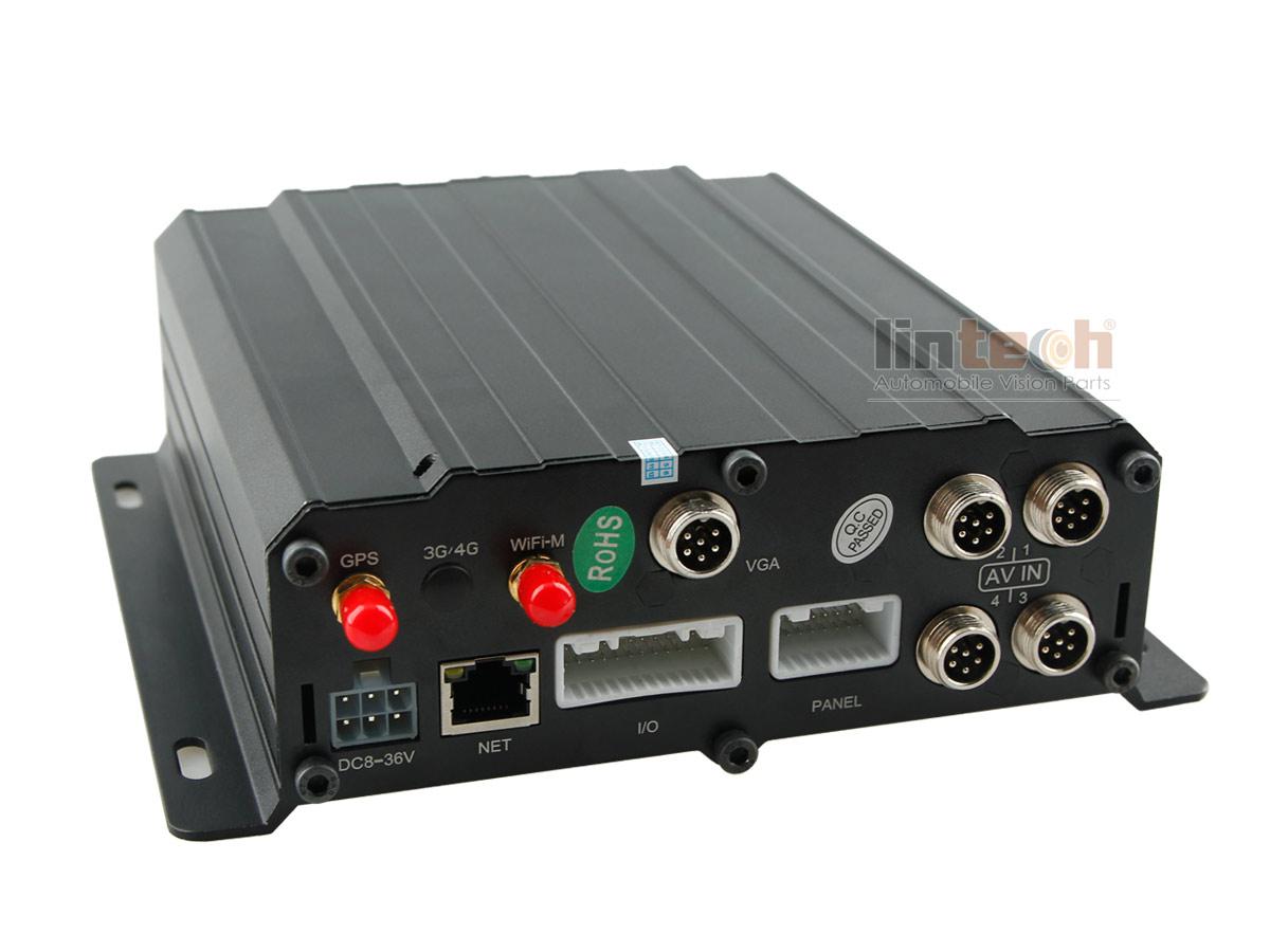 4CH AHDAnalog Car Mobile DVR with 3G WIFI GPS Optional