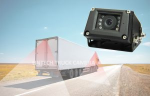 7 inch 4CHs CCTV Camera with DVR for Truck, LWT-04