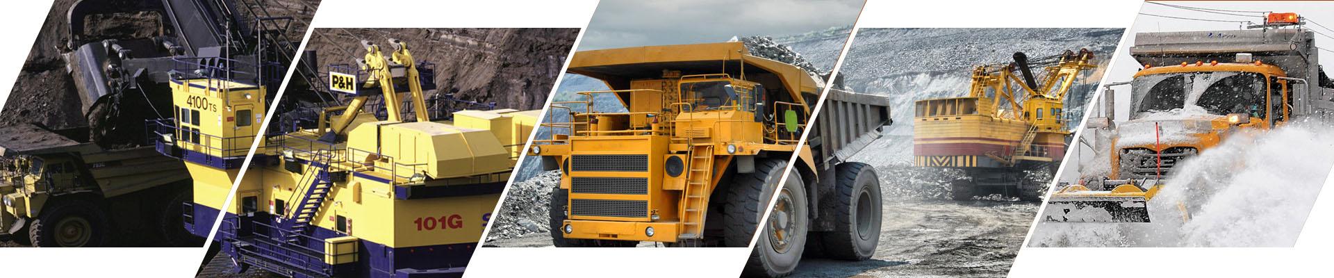 Mining Trucks camera system kit banner