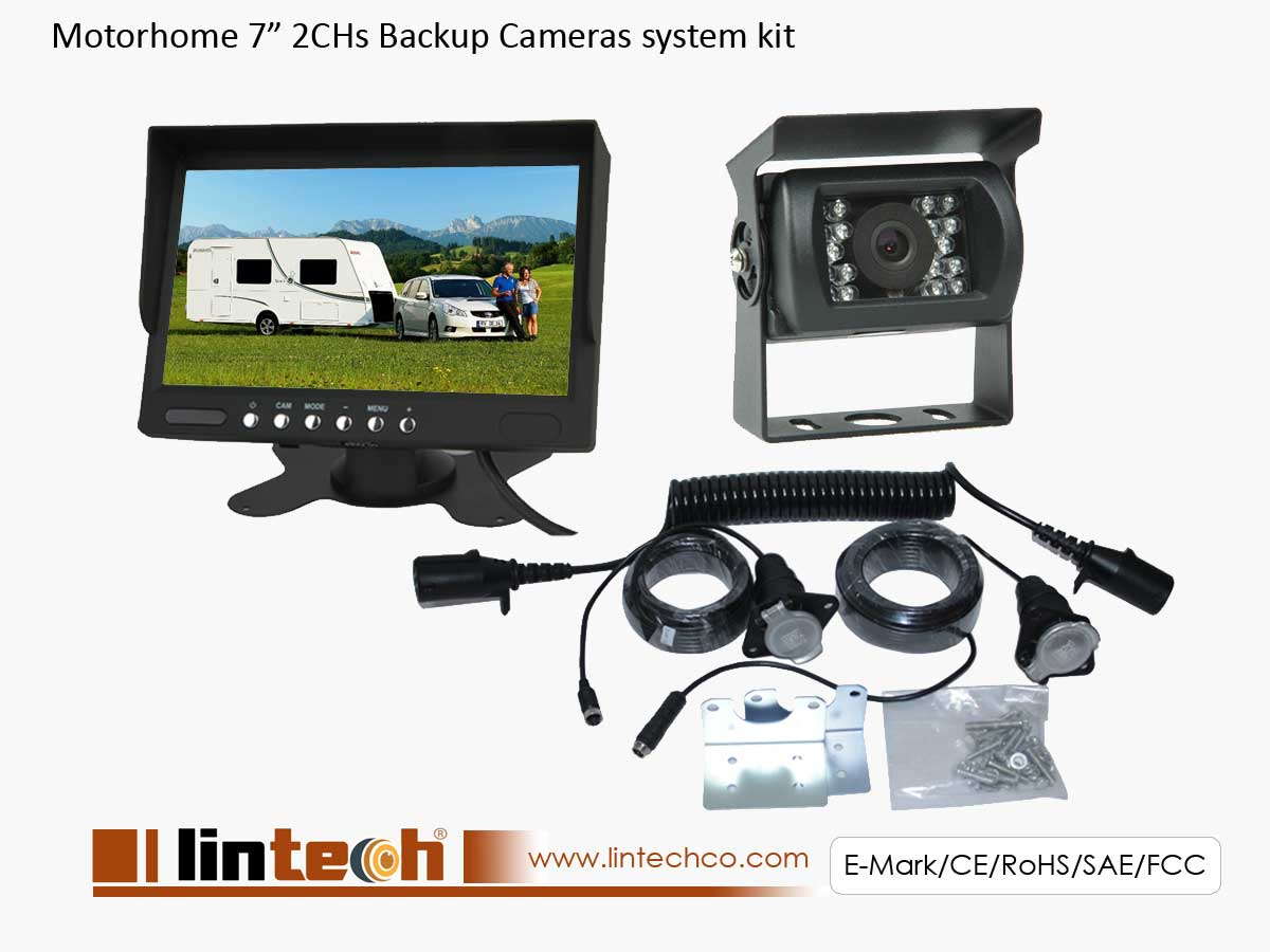 Motorhome Trailer RV Backup Camera System, LRV-01
