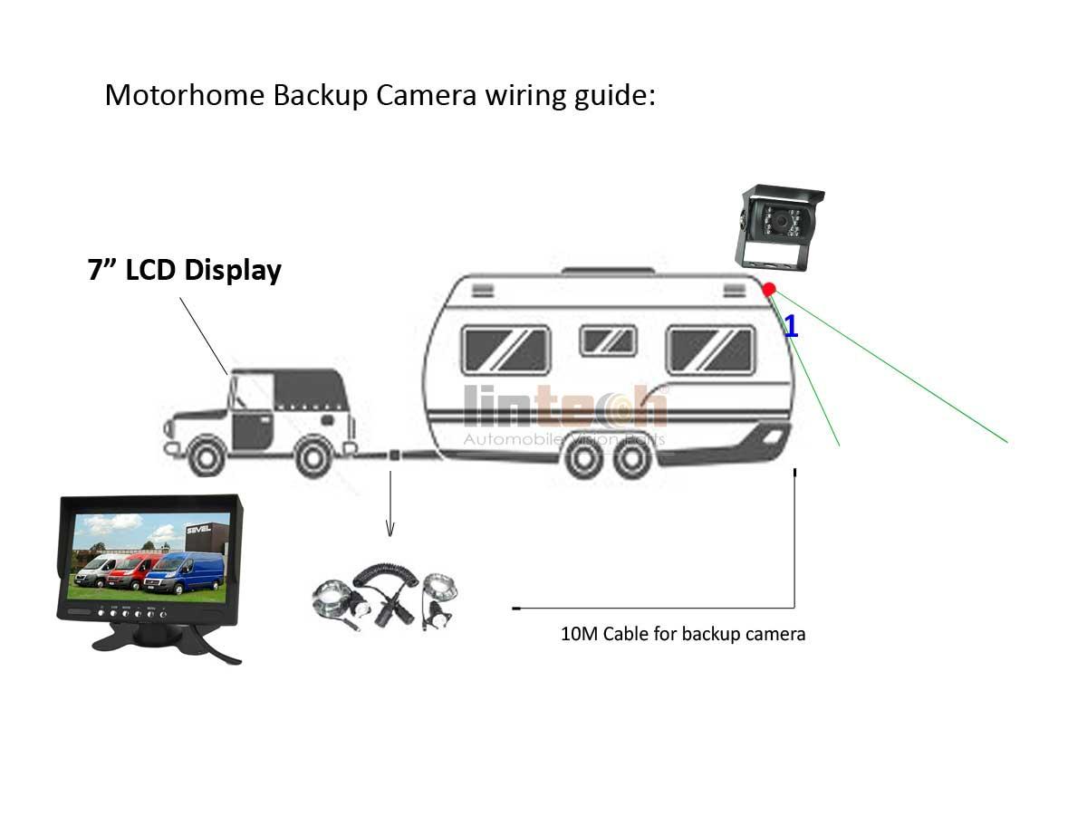 Spiral Trailer Cable For Caravan Motorhome Dual Backup