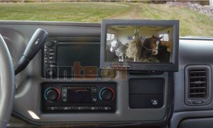 Wired Backup Camera System: LRV-07 For Horse Trailer Rearview