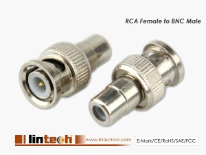 RCA Female to BNC Male Conversion Connector