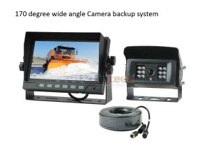 Snow Removal Truck Reversing Aid Rear View Camera System, LCF-01