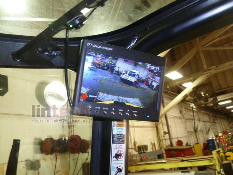 Forklift 7 Dvr Monitor With Front Amp Rear Cameras