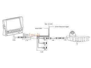 LWC-08 Renault Master,Opel Movano,Nissan NV400 Brake Light Reversing System