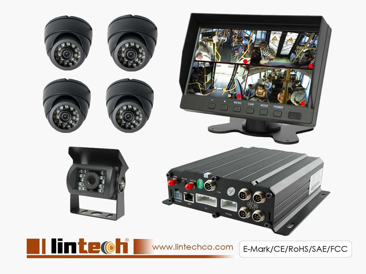 DVR Record Camera System For City Bus