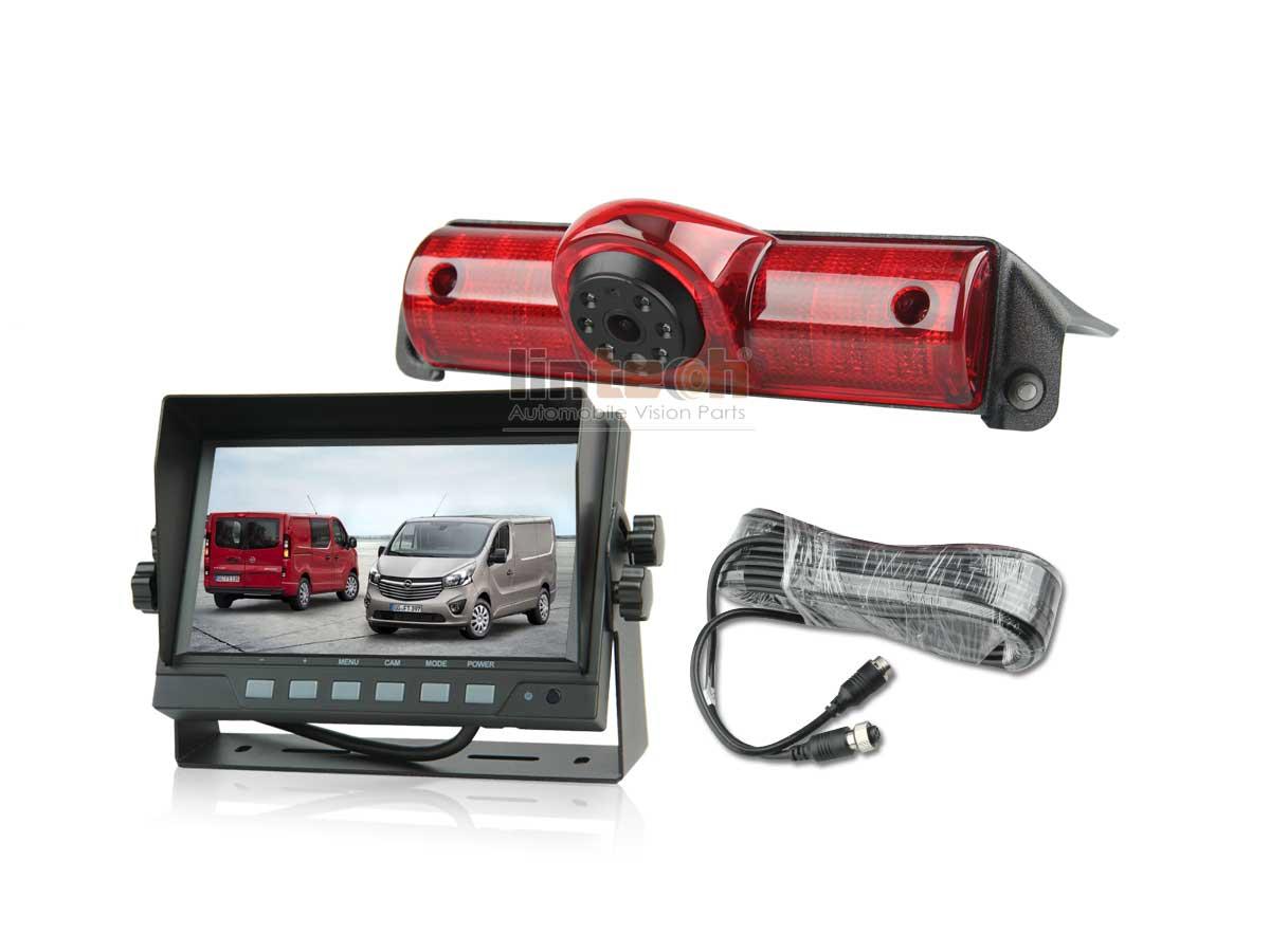 3rd Stop Lights Auto Backup Camera Kit For Gmc Savana