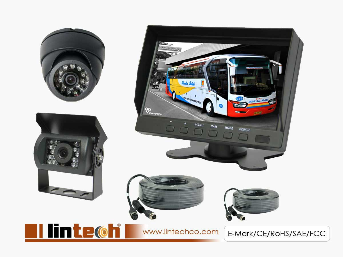 City Bus Reverse Camera System With Night Vision Camera