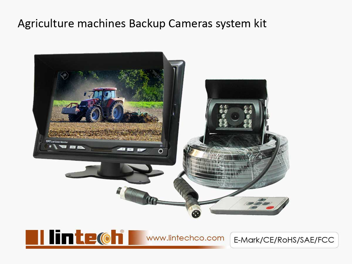 Agriculture Machines Backup Cameras System